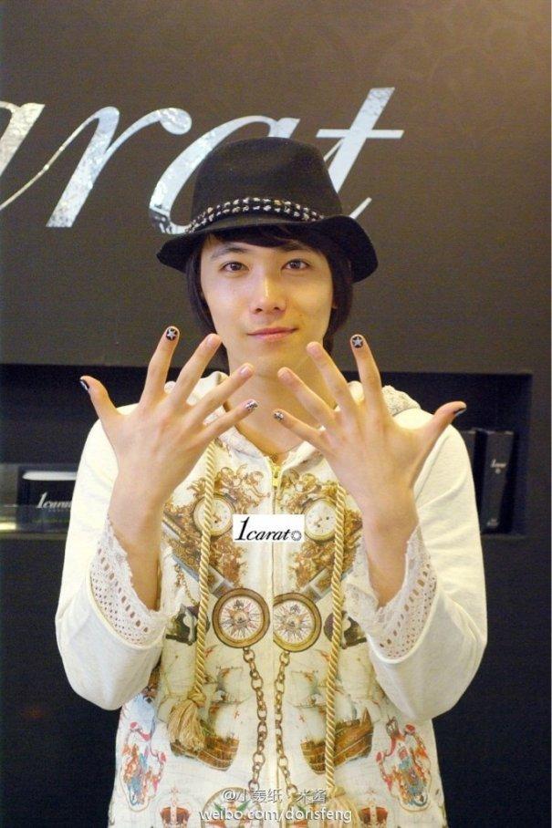 Lee Hong Ki Spent Too Much On Nail Art