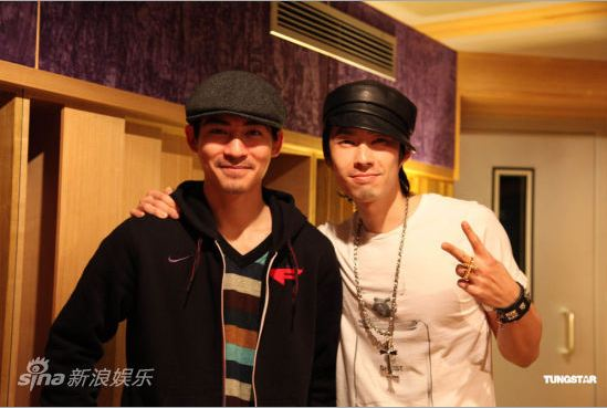 Vic Chou Raps for Vanness Wu's New Album