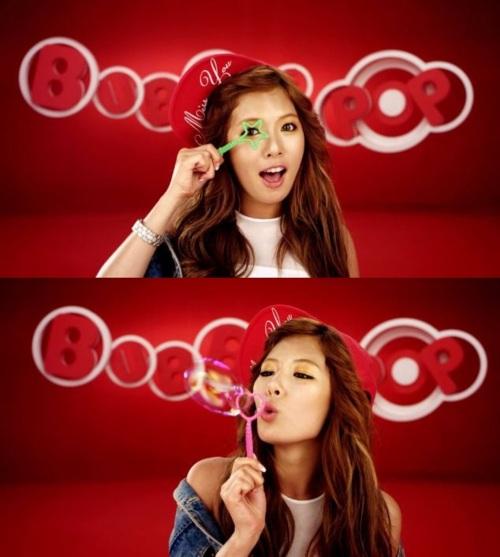 4Minute's HyunA Unveils MV for Bubble Pop! | JpopAsia  4Minute's H...