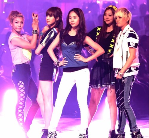 It S Rare To Catch F X Performing Their Slower Songs Live However Recently Gave Fans A Treat By Singing Ballad From First Al On Variety