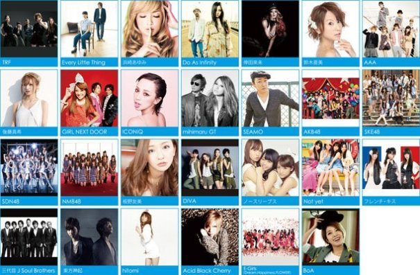 [Jpop] a-nation Artists Selling Songs at Half-Price!