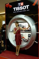 Ariel Lin Attends Grand Opening Of Tissot Store