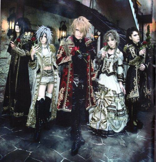 [Jrock] Versailles Plans for 2012 Tours!