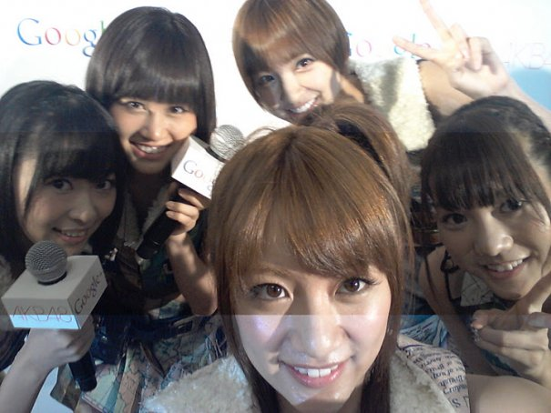 [Jpop] Hangout With AKB48 On Google+!