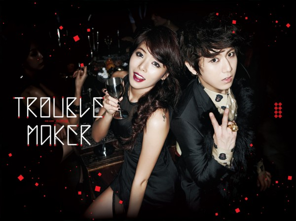 Trouble Maker Rises To The Top on Gaon Charts