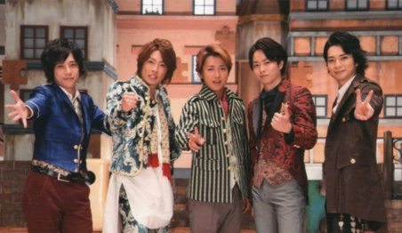"New Arashi Single, ""Wild at Heart"""
