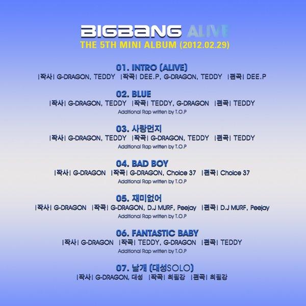 Big Bang's Mini Album Release Date Revealed