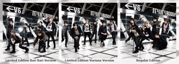 """[Jpop] Preview of V6's Upcoming Single """"Bari Bari BUDDY!"""""""