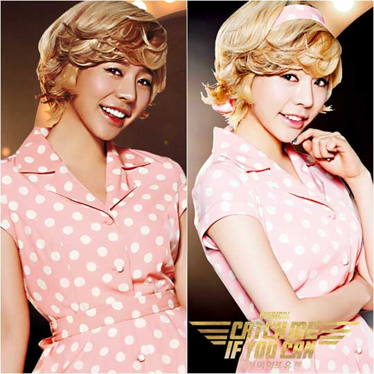 Girls Generation Poses For Musical