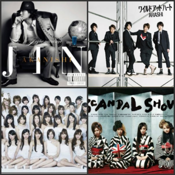 [Jpop] Arashi and Jin Akanishi's Chart-Topping First Day Sales