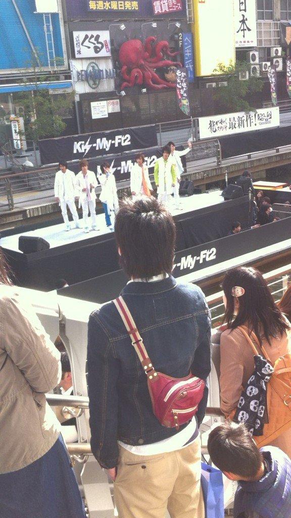 Kis-My-Ft2 Surprise Live in Osaka Doutonbori