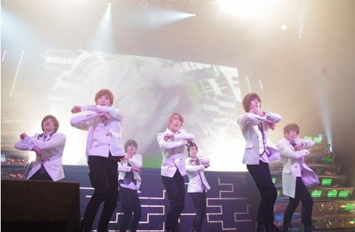 U-KISS Attracts 25000 People to First Japan Concert