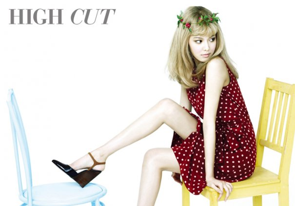 SNSD's Sooyoung Transforms Into Blonde Bombshell For High Cut
