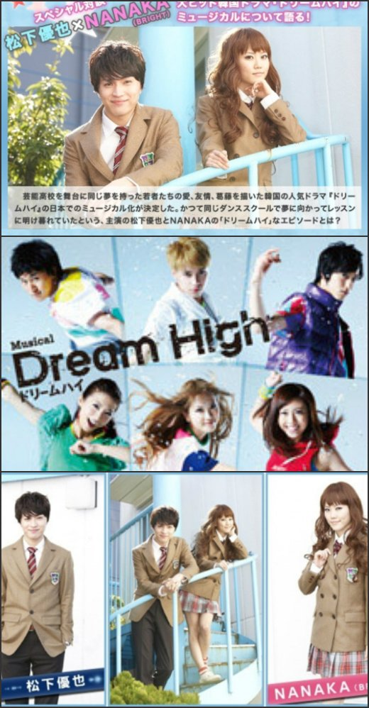 Interview with Yuya Matsushita and NANAKA for Dream High Musical