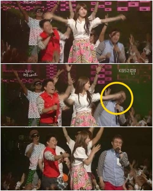 [Kpop] Miss A's Suzy Hits Kim Sung Soo In The Face