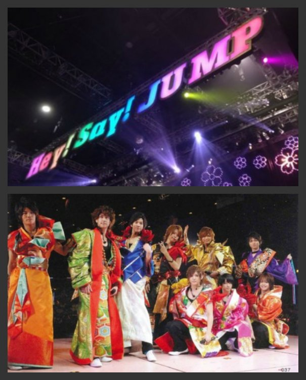 Hey!Say!JUMP on Their First-Ever Overseas Live Performance