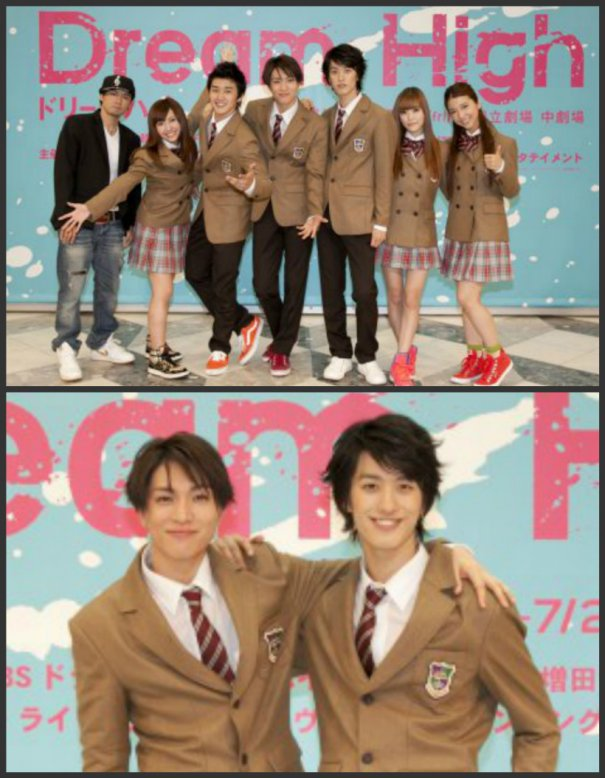 "Yuya Matsushita and Cast of ""Dream High Musical"" Attends Press Conference"