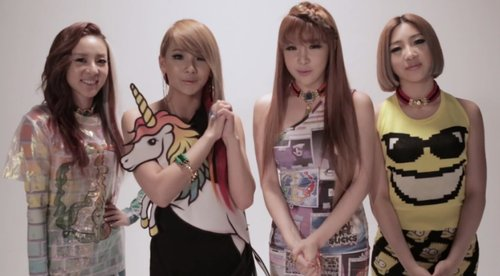 2NE1 Sends Video Message Announcing Their New Tour