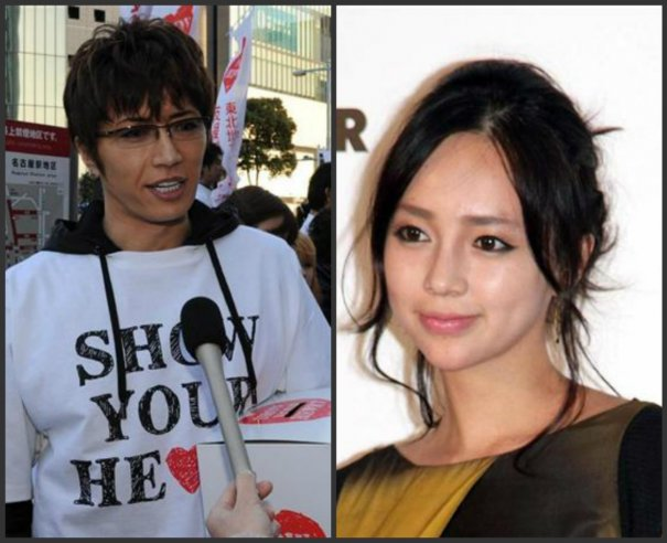[Jpop] GACKT and ICONIQ are Reported to be Dating