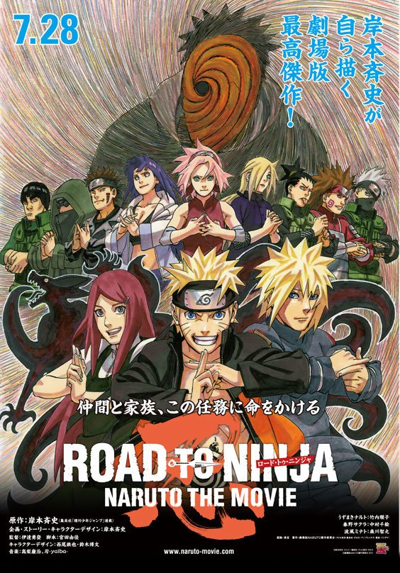 "Naruto Reveals ""Road to Ninja:Naruto the Movie"" Trailer"