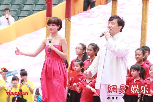 [Jpop] Jackie Chan & Joey Yung Celebrate Hong Kong's 15th Anniversary Unification With China