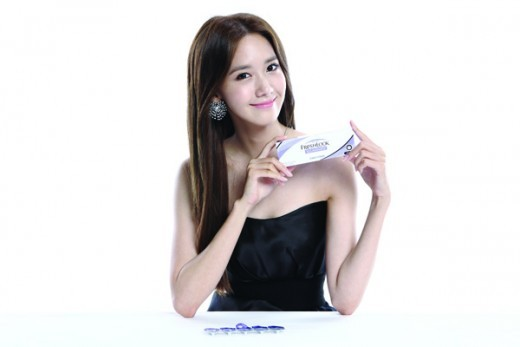 Girls' Generation's YoonA Choosen As Contact Lens Model