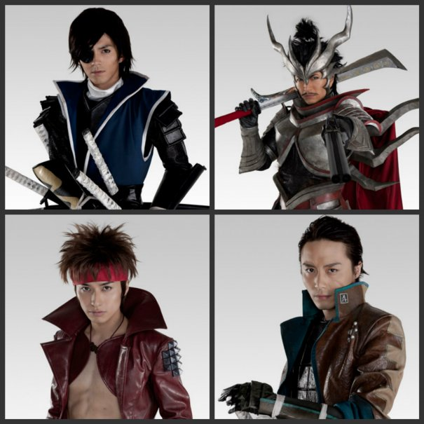 Live-Action Sengoku Basara Show's Trailer Revealed