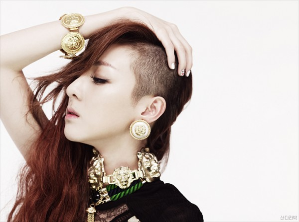 2NE1's Dara Cried While Shaving Off Her Hair
