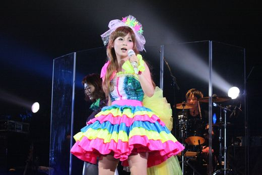 Shoko Nakagawa Transforms Into Sailor Moon At Her Concert
