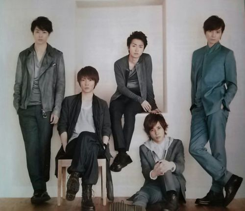 "Arashi Dominates Only★Star's ""Ideal Summer Boyfriend Ranking"" 2012"