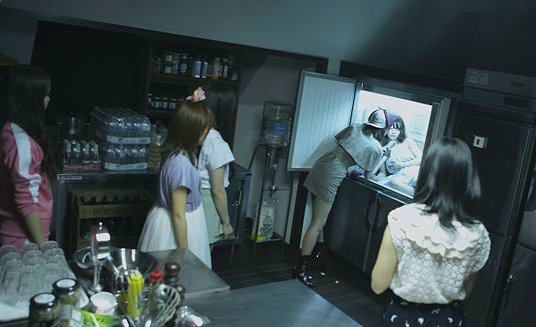 [Jpop] Yuko Oshima Becomes Second Victim In Latest Glico Aisu No Mi CM