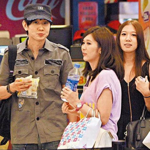 JJ Lin Sighted On Movie Date With Three Girls?