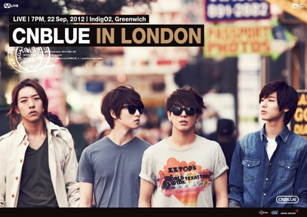 CNBLUE To Hold Concert In London