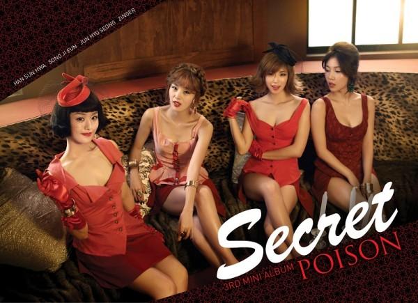 """Secret's """"Poison"""" MV Teaser Revealed!"""