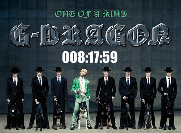 "G-Dragon Release ""CRAYON"" Video Preview And ""One Of A Kind"" Countdown"