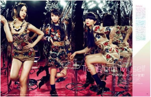 """Perfume Models For """"Vogue Japan"""""""