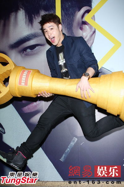 Wilber Pan Registers For The Golden Melody Awards