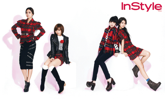 Miss A Shows Off Fall Fashion In November Issue Of InStyle