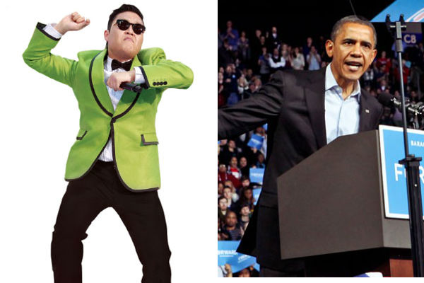"President Barack Obama Does The ""Gangnam Style"" Dance"