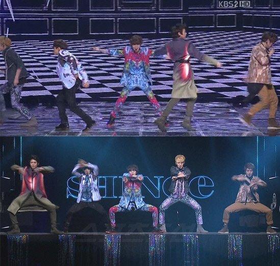 [Kpop] SHINee's Taemin Rips Pants During Live Performance