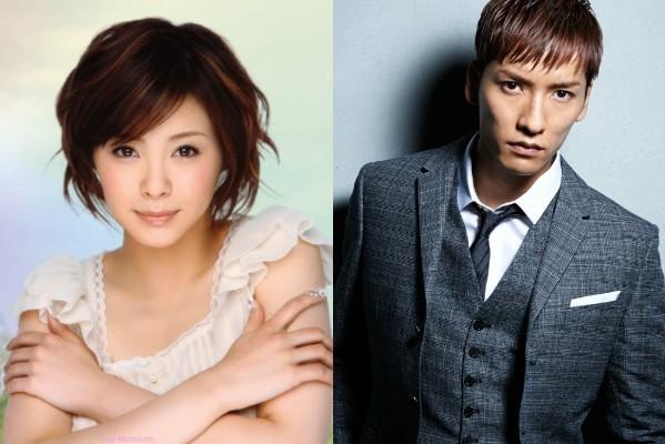 Aya Matsuura And w-inds. Member Keita Tachibana