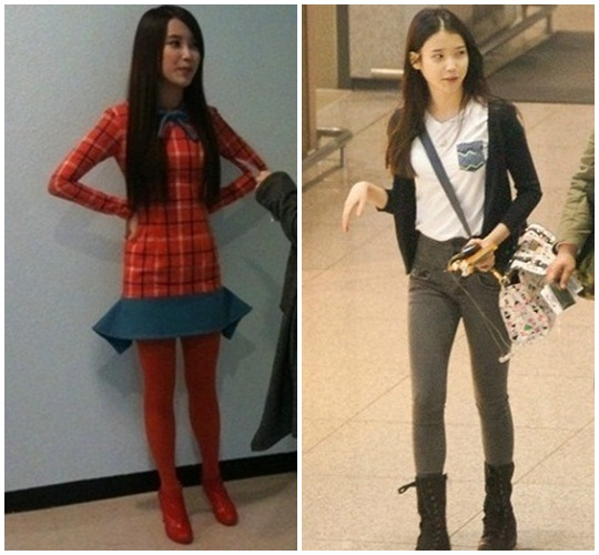 Iu Before And After Weight Loss Source photos: tv report via