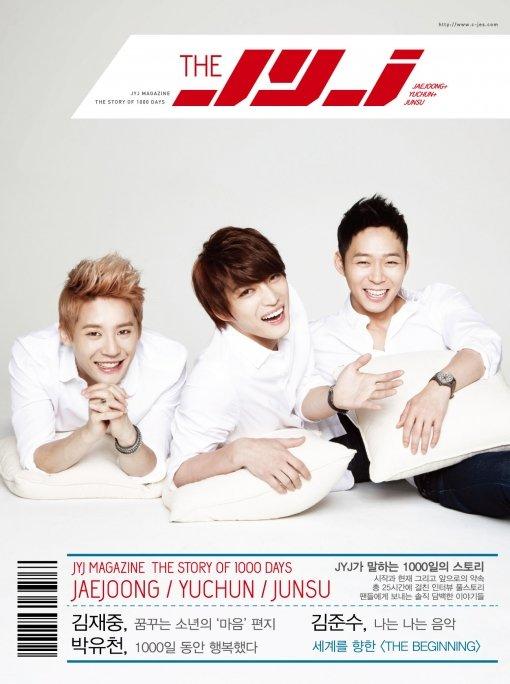 JYJ To Celebrate 1,000 Day Anniversary With Special Magazine