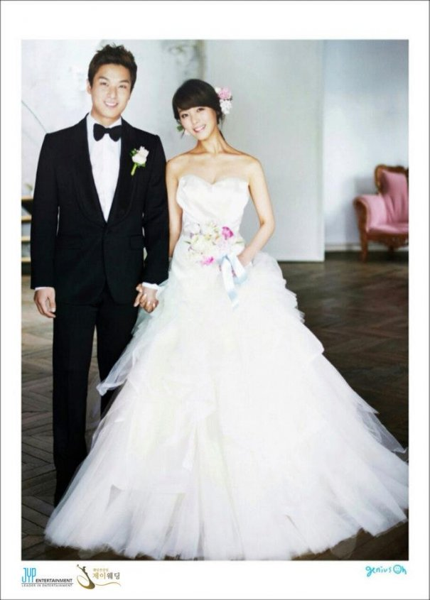 Wonder Girls Member Sunye's Wedding Photos Revealed