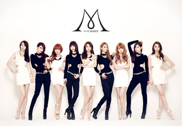 "Nine Muses Releases ""Dolls"" MV + Album"