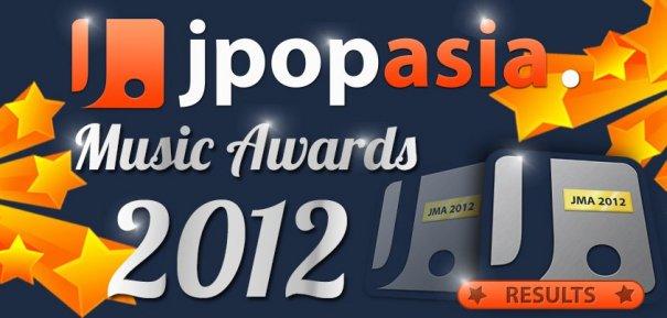 2012 JpopAsia Music Awards Winners Revealed