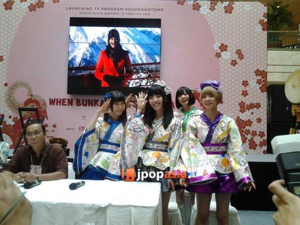 "[Jpop] DEMPAGUMI meet Indonesian fans at ""Kokoro No Tomo"" Launch Event"
