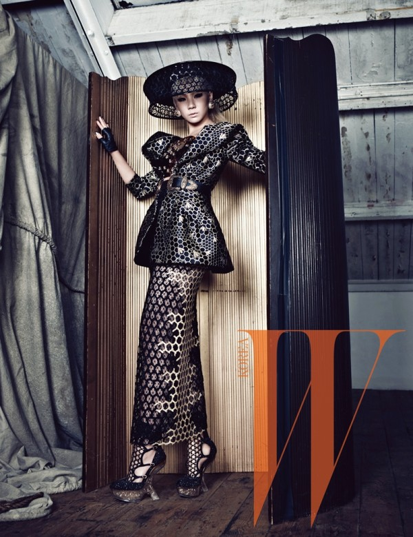 2NE1's CL Models Alexander McQueen In Editorial For W Korea