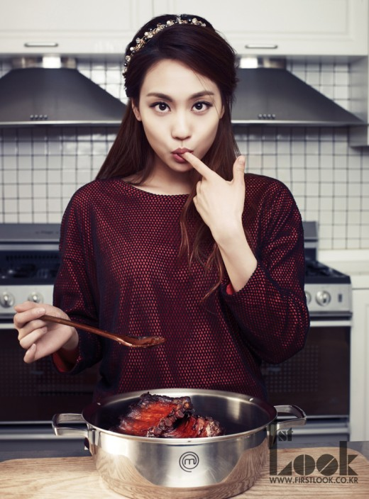 Miss A's Fei Sweetens Up the Kitchen in Her Latest Photoshoot