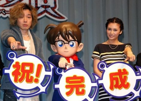 "Kou Shibasaki Attends ""Detective Conan Zekkai no Private Eye"" Stage Greeting"